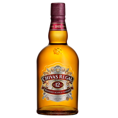WHISKY CHIVAS 12 AÑOS 700 ML