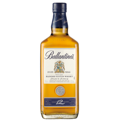 WHISKY BALLANTINES 12 AÑOS 700 ML