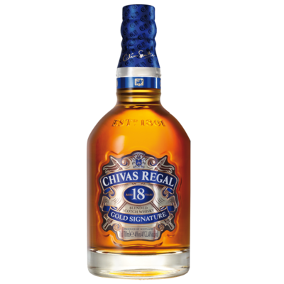 WHISKY CHIVAS 18 AÑOS 700 ML