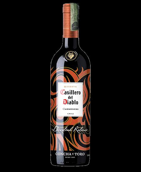 VINO CASILLERO DEL DIABLO DEVILISH 750 ML