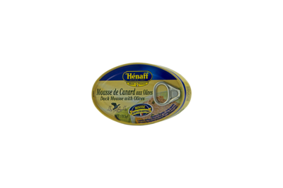 MOUSSE DE PATO HENAFF ACEITE DE OLIVA 115 GR