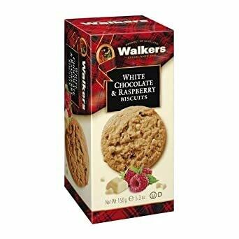 GALLETAS WALKERS RASPBERRY 150 GR