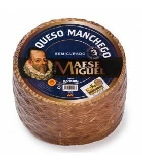 QUESO MANCHEGO MAESE MIGUEL POR PESO. 100 GR