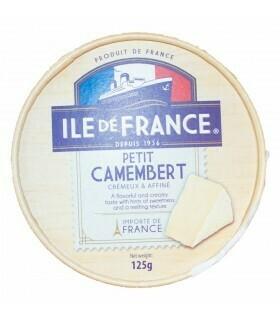 QUESO  CAMEMBERT ILE DE FRANCE X 125 GR