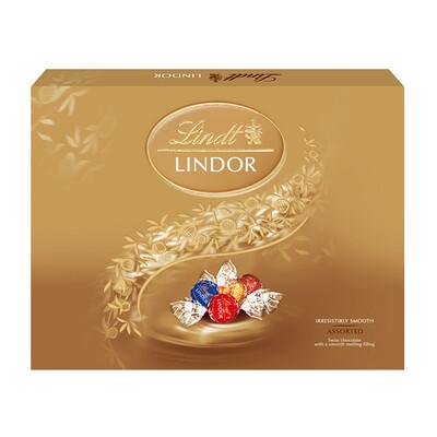 CHOCOLATE LINDOR SURTIDO200 GR