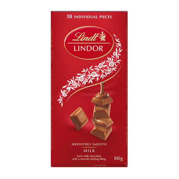 TABLETA LINDOR MILK 100GR