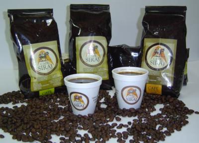 CAFE SIRAJ DESCAFEINADO 500 GR EN GRANO BOLSA CON VALVULA