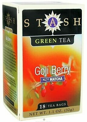 STASH TEA VERDE GOJI BERRY X 18 SOBRES