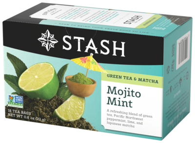 STASH TEA VERDE MOJITO MINT X 18 SOBRES