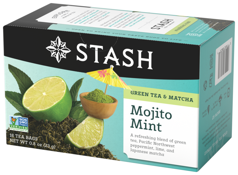 STASH TEA VERDE MOJITO MINT X 18 SOBRES