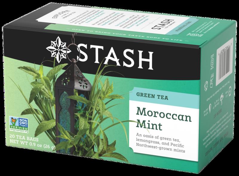STASH TEA VERDE MOROCCAN MINT X 20 SOBRES
