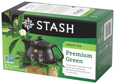 STASH TEA VERDE  PREMIUM  GREEN X 20 SOBRES