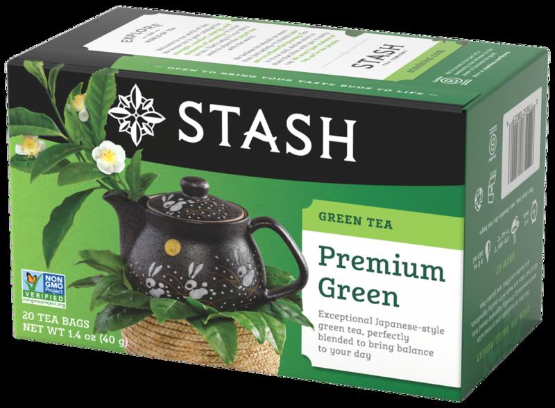 STASH TEA VERDE  PREMIUM  GREEN X 20 SOBRES