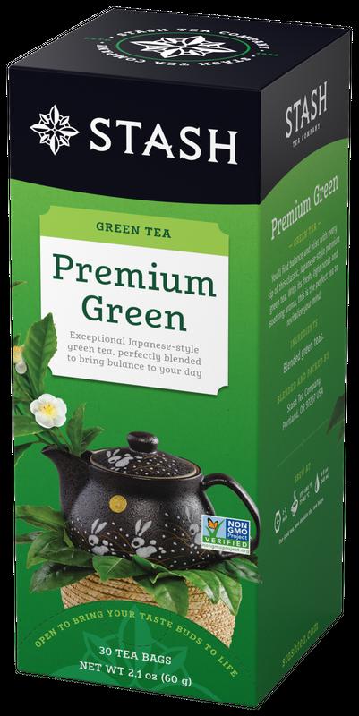 STASH TEA VERDE PREMIUM GREEN X 30 SOBRES
