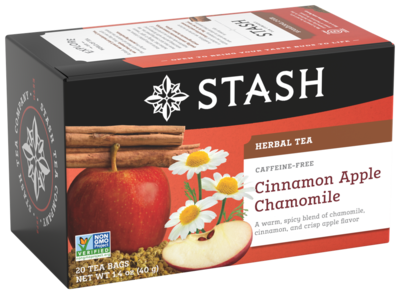 STASH TEA HERBAL CINAMON APPLE X 20 SOBRES