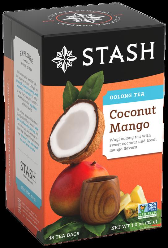 STASH OOLONG TEA COCONUT MANGO X 18 SOBRES