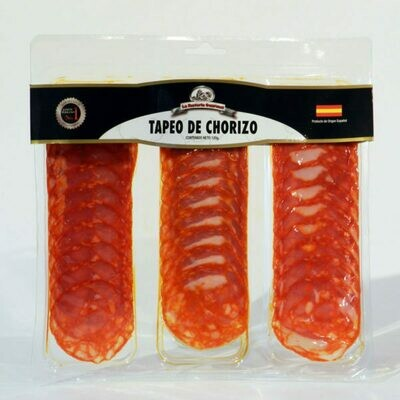 TAPEO DE CHORIZO 120 GR