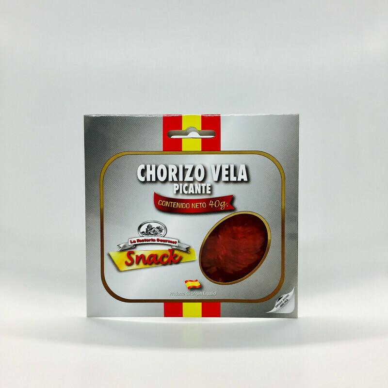 CHORIZO PICANTE 40 GR