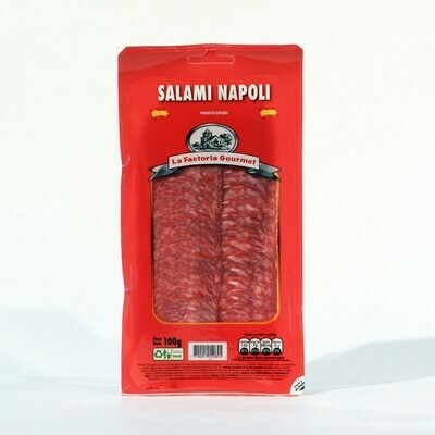 SALAMI NAPOLI paquete x 100 GR
