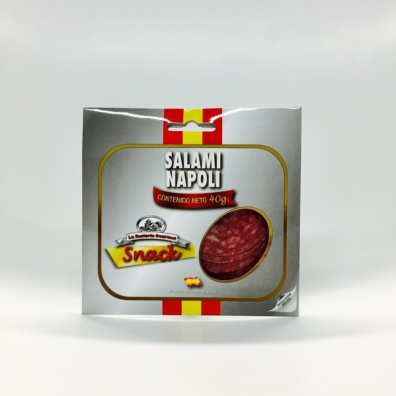 SALAMI NAPOLI paquete x  40 GR