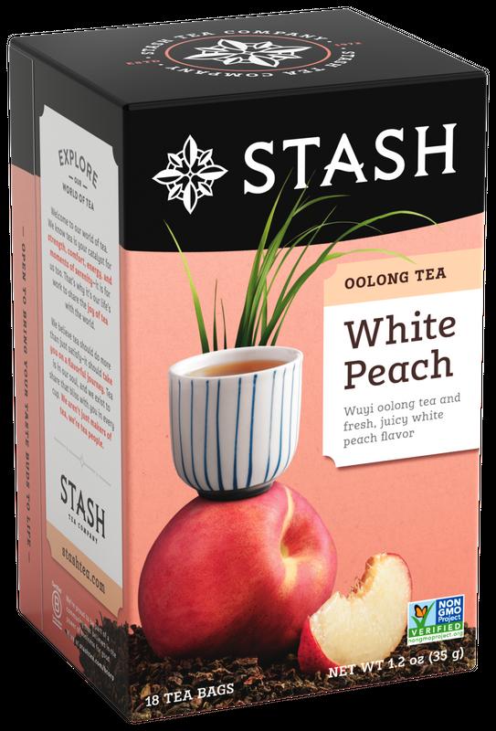 STASH OOLONG TEA WHITE PEACH X 18 SOBRES