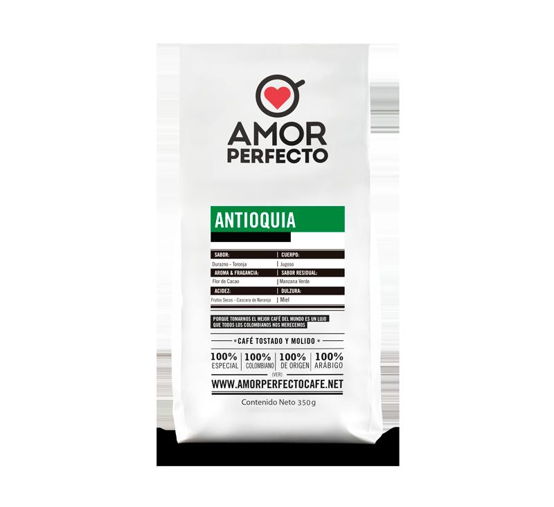 CAFÉ AMOR PERFECTO ORIGEN ANTIOQUIA 500 GR