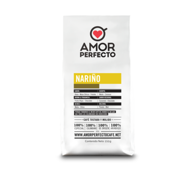 CAFÉ AMOR PERFECTO ORIGEN NARIÑO 500 GR