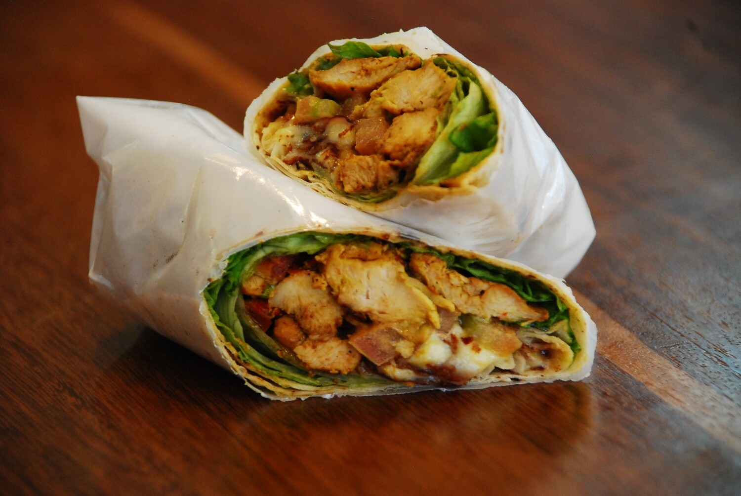 WRAP POLLO CURRY