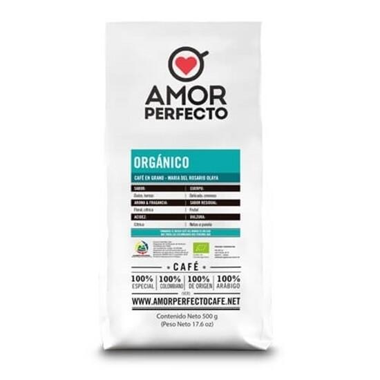 CAFÉ AMOR PERFECTO ORIGEN ORGANICO 500 GR