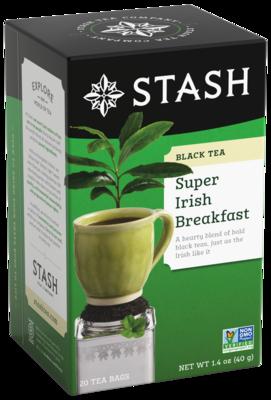 STASH TEA NEGRO SUPER IRISH  BREASKFAST x 20 SOBRES