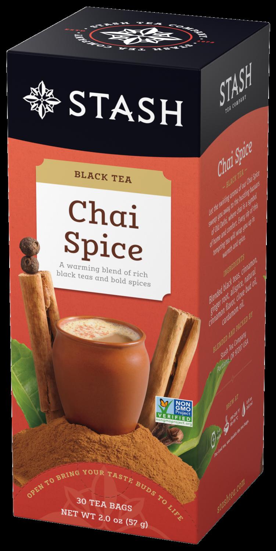 STASH TEA NEGRO CHAI SPICE X 30 SOBRES