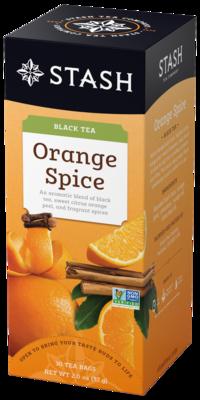 STASH TEA NEGRO ORANGE SPICE X30 SOBRES