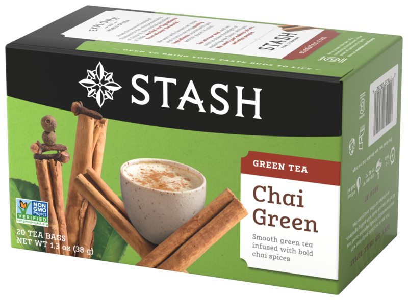 STASH TEA VERDE CHAI GREEN X 20 SOBRES
