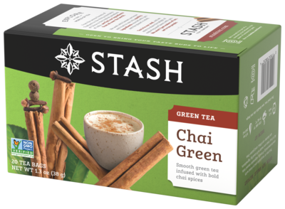 STASH TEA VERDE CHAI GREEN X 20 SOBRES