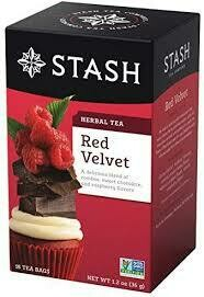 STASH TEA HERBAL INFUSION RED VELVET X 18 SOBRES