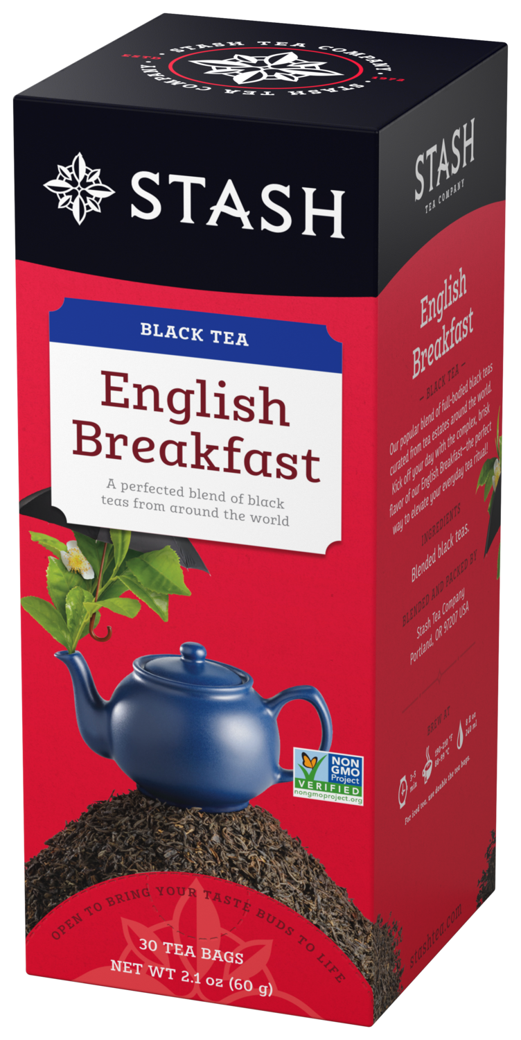 STASH TEA NEGRO ENGLISH  BREAKFAST X 30 SOBRES