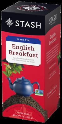 STASH TEA NEGRO ENGLISH  BREAKFAST X 30 SOBRES