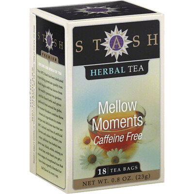 STASH TEA HERBAL INFUSION MELLOW MOMENTS X 18 SOBRES