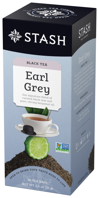 STASH TEA NEGRO EARL GREY X 30 SOBRES