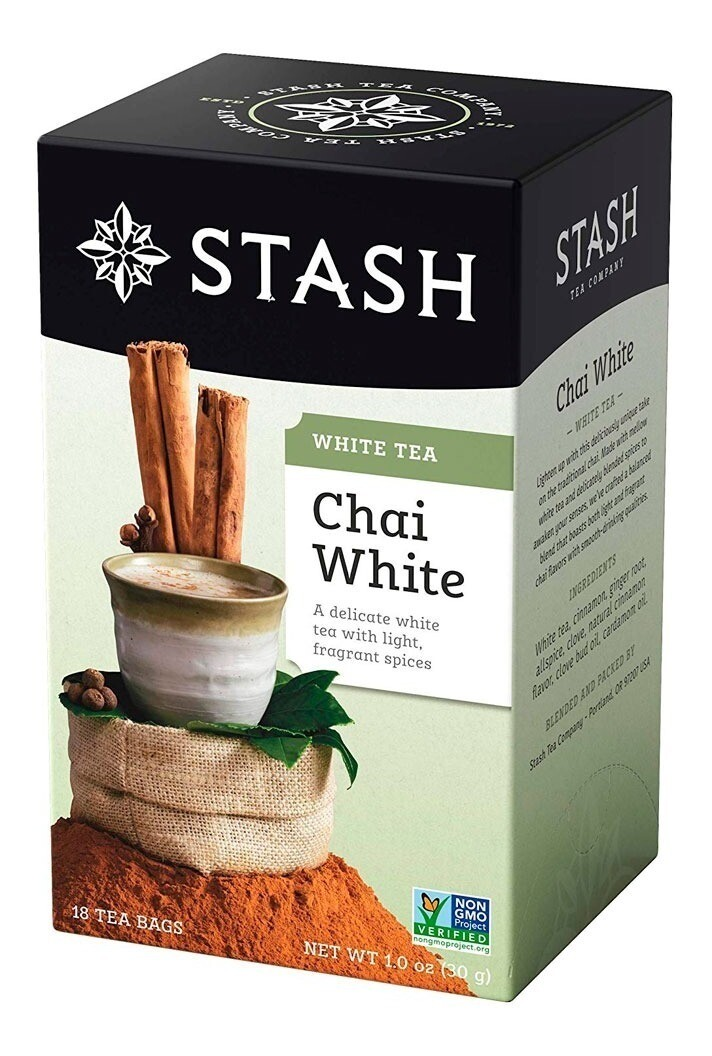 STASH TEA VERDE CHAI WHITE X 18 SOBRES