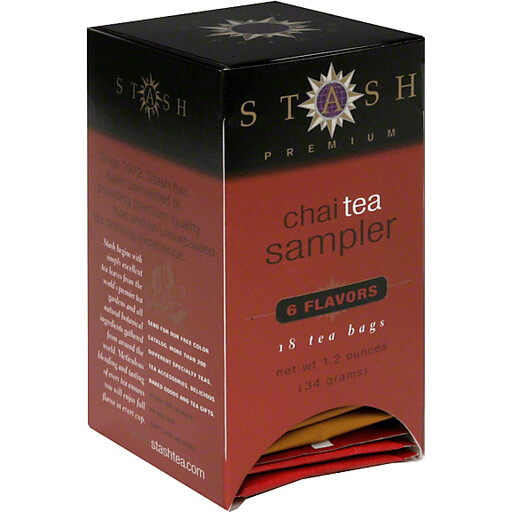 STASH CHAI SAMPLER X 18