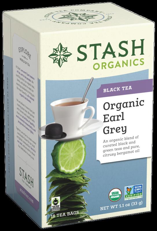 ORGANIC STASH TEA EARL GREY X 18 SOBRES