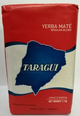 YERBA MATE TARAGÜI TRADICIONAL X 500 GR