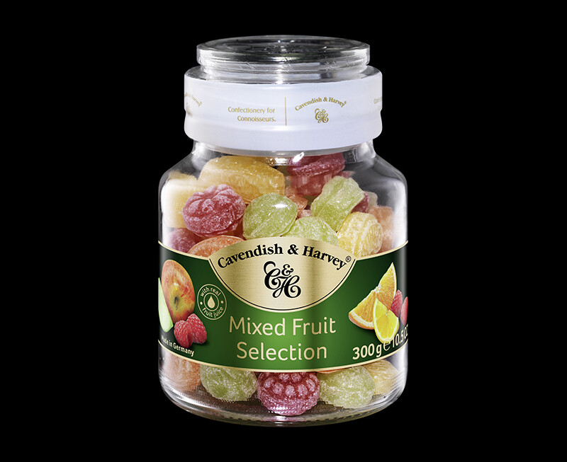 DULCES CAVENDISH & HARVEY  MIXED FRUIT SELECTION JAR X 300 GR