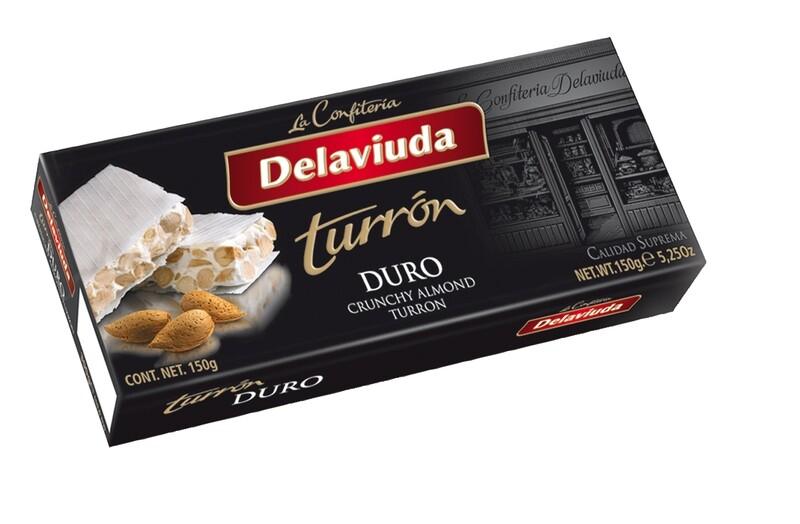 TURRON DURO DE LA VIUDA ESTUCHE X 150 GR