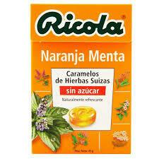 DULCES RICOLA NARANJA 45 GR