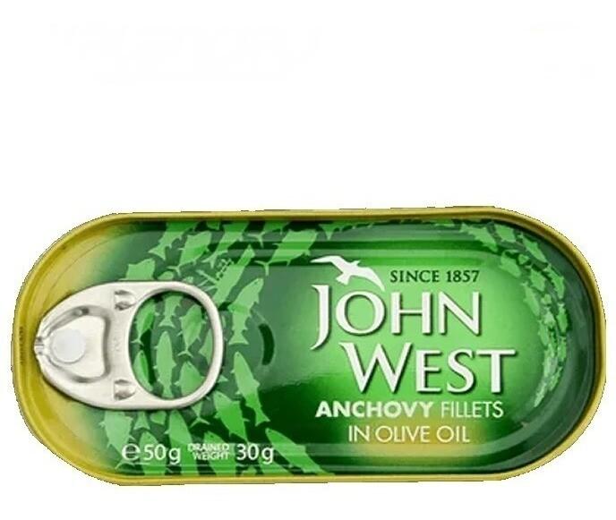 ANCHOAS JOHN WEST 50 GR