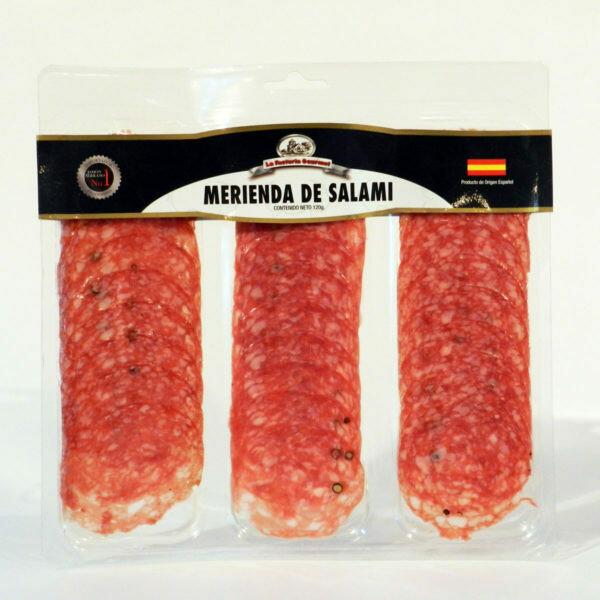 MERIENDA DE SALAMI BOLSA 120 gr