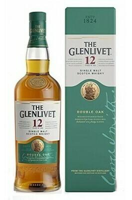 WHISKY GLENLIVET 12 AÑOS 700 ML
