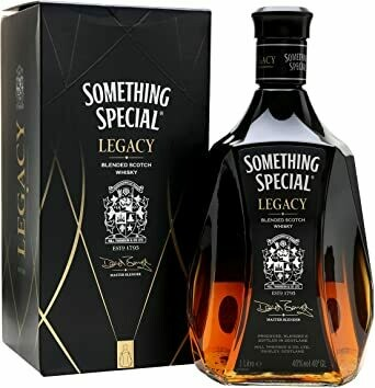 WHISKY SOMETHING LEGACY BOTELLA 700 ML
